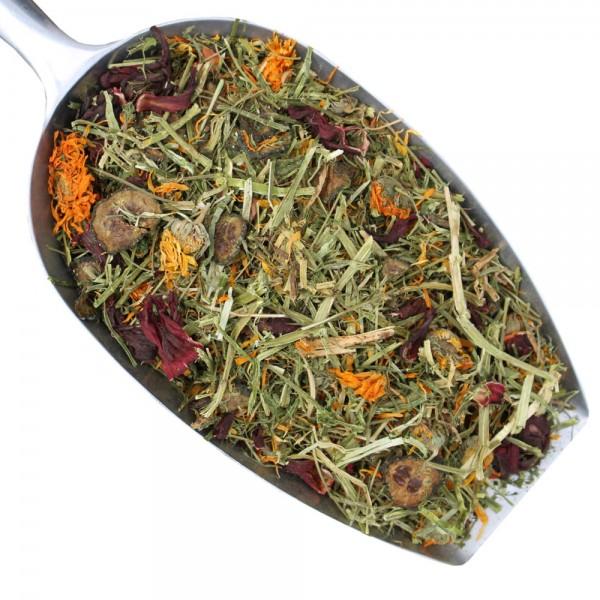 Luzerne Gemüsemix mit Blüten