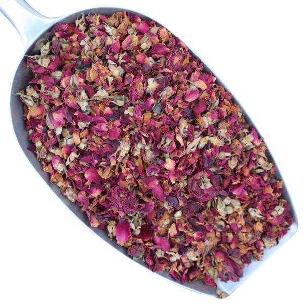 Rosenblüten / blätter getrocknet